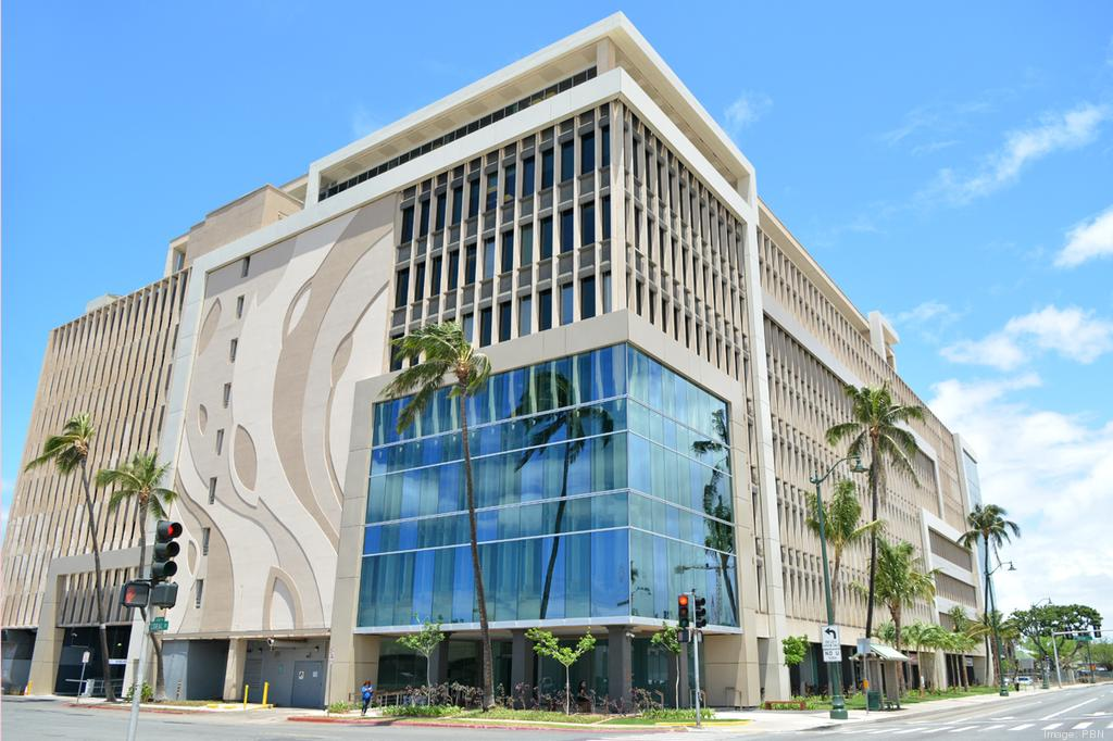 The $14 million renovation of the landmark 677 Ala Moana Building in Honolulu will be completed in the fall.
